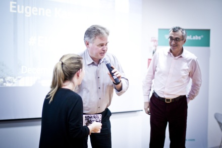 Eugene Kaspersky in LUISS ENLABS